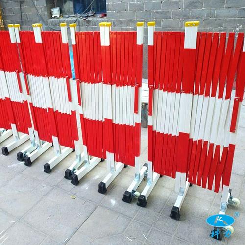 绝缘电力防护伸缩围栏